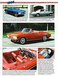 1966 Chevy Corvair Caprice Impala Convertible Nova Article Must See