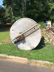 Stainless Steel Jacketed Tank Approx 1150 Gallons With Twin Blade Mixer Used