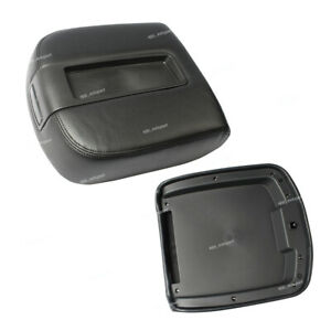 Front Center Console Armrest Lid Top Fits 07 13 Chevy Tahoe Suburban Yukon Black