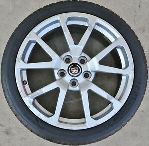 Cadillac Cts V Coupe Front 19x9 19 Wheel Rim Silver Oem Gm Factory 9597858