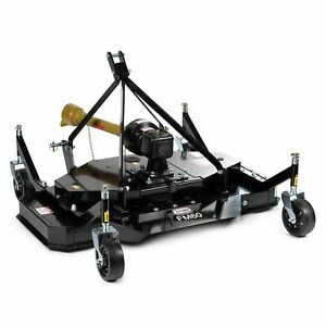Titan Attachments 3 Point Pto Finish Mower 60 Cutting Width Category 1 Hitch