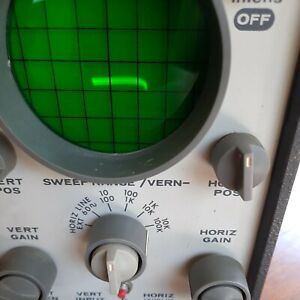 Rca Institutes Crt Display Made For Ibm Corp Oscilloscope Vintage