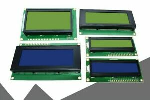 Lcd Screen Liquid Crystal Display 1602 Or 2004 12864 Character Controller Light