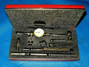 Starrett Last Word 711 Dial Test Indicator Set 0005 Tested Excellent Condition