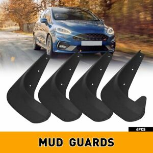 4x Black Splash Guards Mud Flaps Car Auto Parts Accessories For Toyota Protector