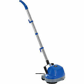 Global Industrial Mini Floor Scrubber With Floor Pads 11 Cleaning Path