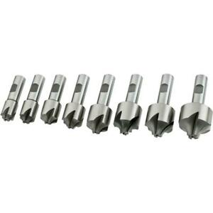 Grizzly G9290 8 Pc Corner Rounding End Mill Set Large