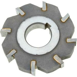 Grizzly G9341 Carbide Tip Side Mill Cutter 3 X 1 2 X 1 B 8t