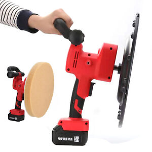 Electric Concrete Cement Mortar Trowel Wall Plaster Smoothing Polishing Machine