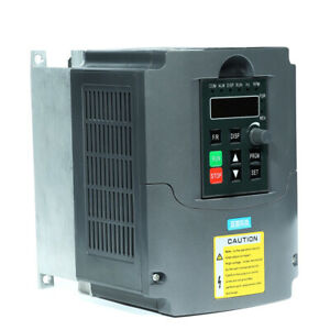 Variable Frequency Drive 3kw Vfd Inverter Frequency Converter High Precision