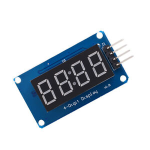 4 Bits Digitals Tube Led Display Modules With Clocks Display Tm1637 For Arduigv6