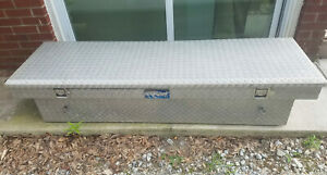 70 Truck Tool Box Pickup Cab Storage Aluminum Local Pickup Only No Shipping