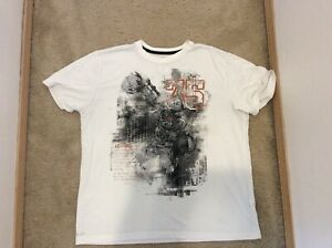 Nike Special Ops White Kevin Durant Men#x27;s Dri Fit Basketball T Shirt XXL White $15.00