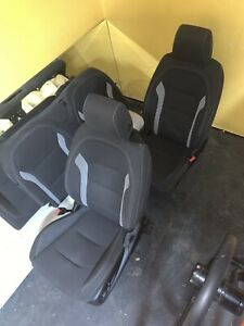 2017 Chevrolet Camaro Cloth Ss Front And Rear Seats Black Local Pickup Only