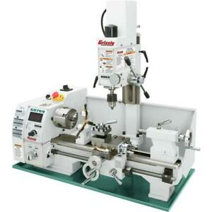 Grizzly G0769 8 X 16 Variable speed Lathe With Milling Head