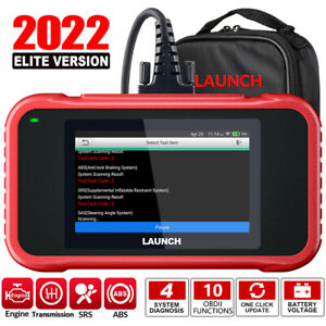 Launch Crp123e Obd2 Scanner Engine Abs Srs At Code Reader Car Diagnostic Tool