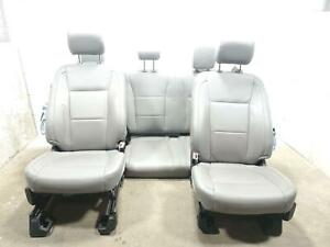 Complete Set Seats Ford Pickup F150 15 16 17