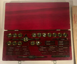 Greenfield Little Giant Tap And Die Threading Set A 160 Usa