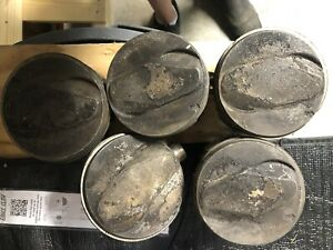 396 402 Chevy Pistons Used Oversized Cast