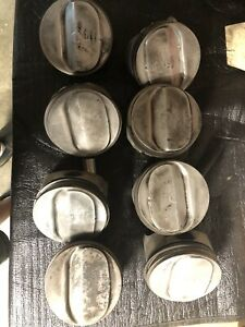3959456 350 Chevy Pistons Lt1 Factory Please Take Outs Nice
