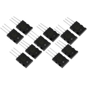 5 Pair kit Black High Power Matched Audio Transistor 2sa1943 2sc5200 For Replace