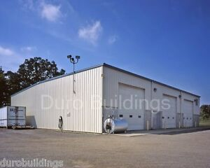 Durobeam Steel 60 x125 x14 Metal Building Clear Span Garage Made To Order Direct