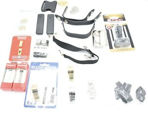 Police Gear Lot Whistles Keepers Radio Clips Sgt Bars Belt Buckle Shirt Stays