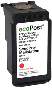 Ecopost Brand Remanufactured Postage Meter Cartridge For Pitney Bowes Sl 870 1