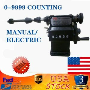 Manual Hand Coil Counting And Winding Machine Winder Coiler Dual purpose Usa