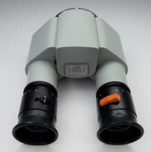 Zeiss F 160 Surgical Microscope Binoculars With 12 5 X Eye Pieces