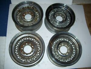 Chrysler Imperial 15 X 6 1 2 Wire Wheels 5 On 5 1 2 Bolt Circle Try On Ford