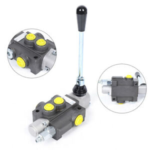 1 Spool Hydraulic Directional Control Valve Double Acting Cylinder 3600psi