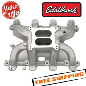 Edelbrock 71187 Performer Rpm Small Block Chevy Ls1 Intake Manifold Only