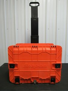 Snap On Orange All Weather Rolling 7 Drawer Tool Chest Box