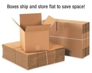 Boxes Many Sizes Available Packing Mailing Moving Storage packs Of 25