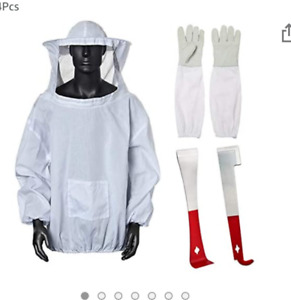 Beekeeping Suit Jacket Ventilated Veil New Free Shipping