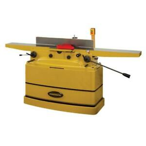 Powermatic 1610082 8 In Parallelogram Jointer With Helical Cutter Head