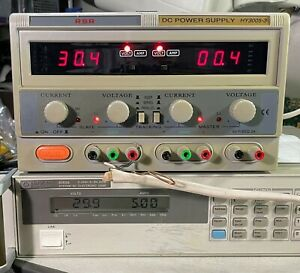 Mastech Hy3005f 3 Triple Output 30v 5a Variable Dc Power Supply W Tracking