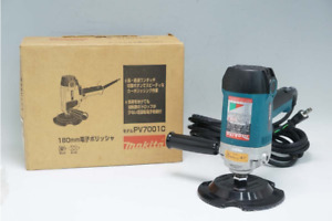 Makita 180mm Electric Polisher Pv7001c Includes A Set Of Accessories Japan Used
