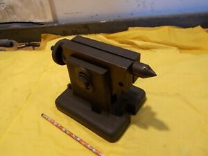 Adjustable Height Tailstock For Indexing Dividing Head Indexer Super Spacer Mill
