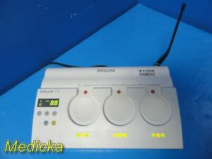Philips Avalon M2720a Cordless Fetal Transducer cts Sys Base Station 25843