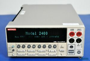 Keithley 2400 Sourcemeter Smu Source Meter 200v 1a 20w Nist Calibrated