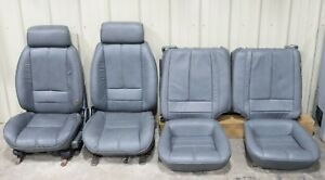 1992 Chevrolet Camaro Convertible Gray Leather Seats Used Oem Gm