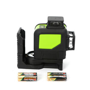 Defect 8 Line Laser Level 360 Rotary Self Leveling Laser Green 3drotary Battery