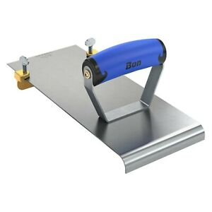 Edger groover 12 X 4 7 8 Radius 1 2 Concrete Edger With 3 4 X 3 4 Groover