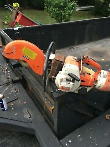 Stihl Ts 350 Cut Off concrete Saw For parts Or Repair Only