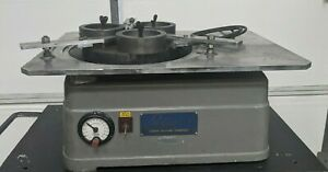 Lapmaster Model 15 Precision Open Face Flat Lapping Machine With Accessories