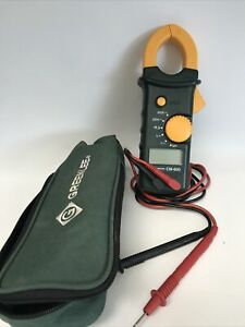 Greenlee Cm 600 Clamp Meter W Case Leads Working