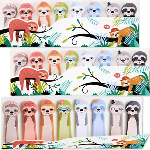 800 Pages Cute Sloth Sticky Notes Animal Page Flags Stickers For Office School S