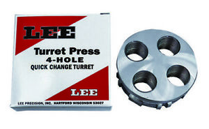 Lee Precision 4 Hole Quick Change Turret for Turret Press and Classic $18.88